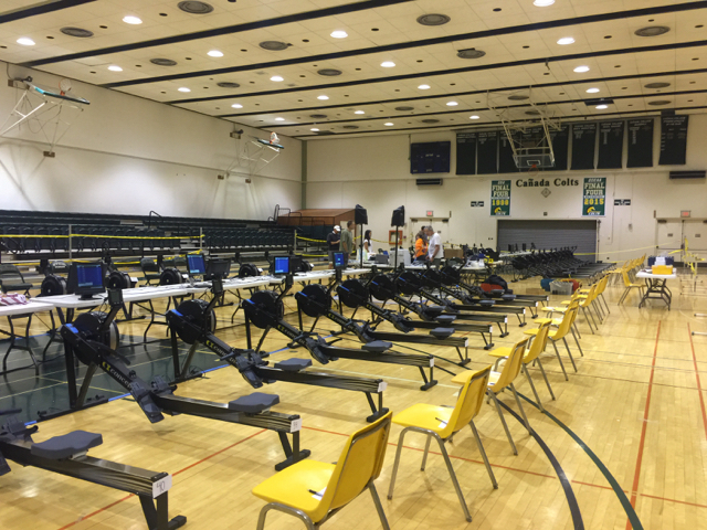 Ergs ready for competition